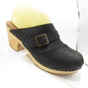 Toms Elisa Size 7.5 Heels Slip On Womens B2D2